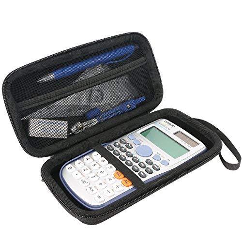 Für Casio FX-991 ES PLUS/DE Plus/DE X wissenschaftlicher Taschenrechner EVA Hart Reise Tragetasche Tasche von Khanka