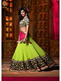Clothes Old Navy Best Deals - Mahi Fashion Women's georgette Lehenga Choli (SSC-lehengha_parrot black_Free Size)