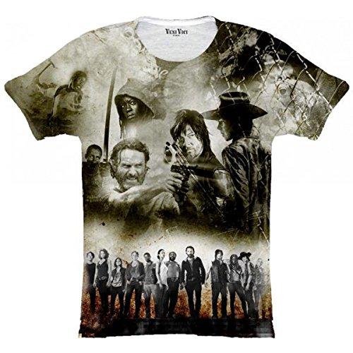 Veni Vici T-Shirt Walking Dead - Bunt - XL (Walking Dead Hats)