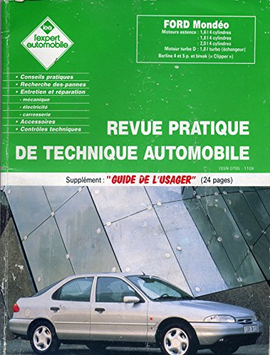 Revue pratique de technique automobile Ford Mondéo par divers
