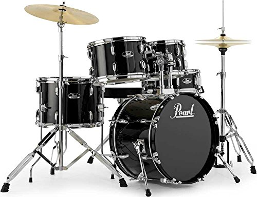 pearl-roadshow-18-inch-5-piece-drum-kit-with-hardware-2-cymbals-black