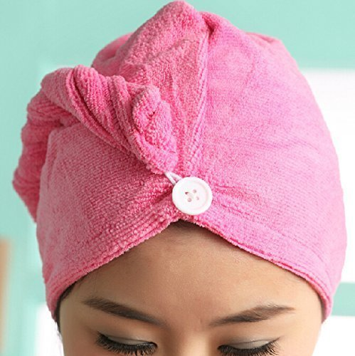 Super Water Absorbency Microfiber Hair Turban towel,Microfiber Hair Wraps ,Microfiber Hair Drying...