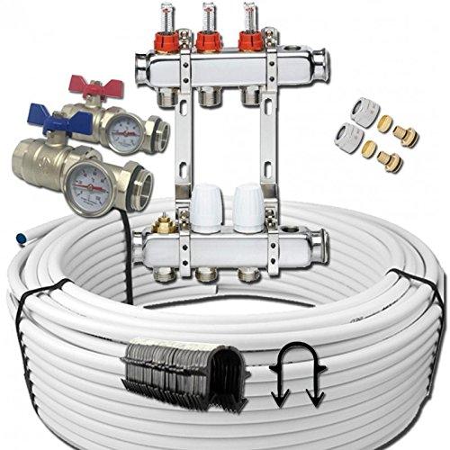 Kit Suelo radiante-Tubo multicapa (/10M²)