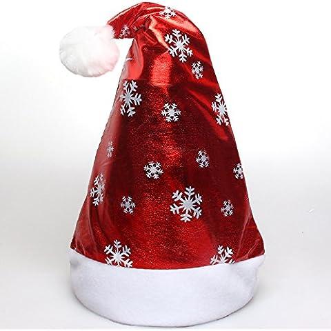 Natale Natale hats off-chip Natale snowflake cappelli Mall hotel ,38*26cm (Snowflake Accenti)