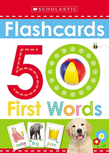 Flashcards: 50 First Words Scholastic Early