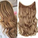 TESS Haarteil Extensions 1 Tresse Ombre Haarverlängerung Synthetische Haare Haarverdichtung 20