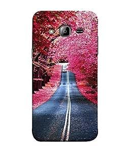 PrintVisa Autumn Season 3D Hard Polycarbonate Designer Back Case Cover for Samsung Galaxy On7 Pro :: Samsung Galaxy On 7 Pro (2015)