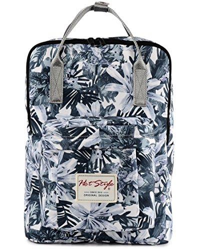 Imagen de hotstyle bestie  floral 18l  bolsa mujer para portatil de 14 pulgadas  gris