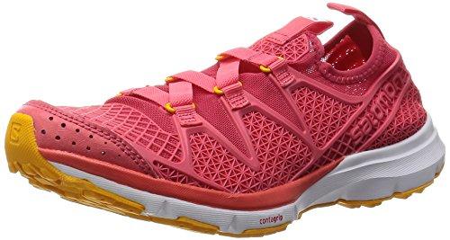 Salomon - Crossamphibian W, Scarpe da trail running Donna Rosa/giallo (Lotus Pink/Madder Pink/Yellow Gold)