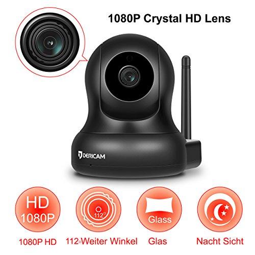 Dericam 1080P Full HD Wlan IP Kamera - 2