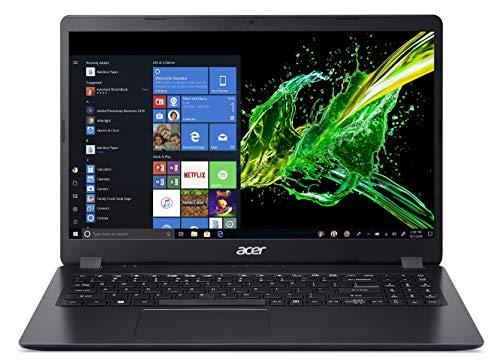 Acer Aspire 3 Thin A315-54 15.6-inch Thin and Light Notebook (Intel Core i5-8265U processor/8GB/1TB HDD/Windows 10 Home 64 bit/Intel UHD 620 Graphics), Shale Black