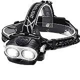 ZOUQILAI 2xT29 Scheinwerfer hellste Taschenlampe 9 Modi Scheinwerfer USB Aufladbare Wasserdichte Zoomable drehbare LED Lampe 18650 Batterien