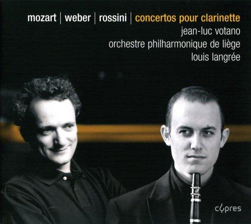 Mozart: Klarinettenkonzert KV 622 / Weber: Klarinettenkonzert Nr.1 f-Moll op.73 / Rossini: Introduktion, Thema und Variationen für Klarinette und Orchester