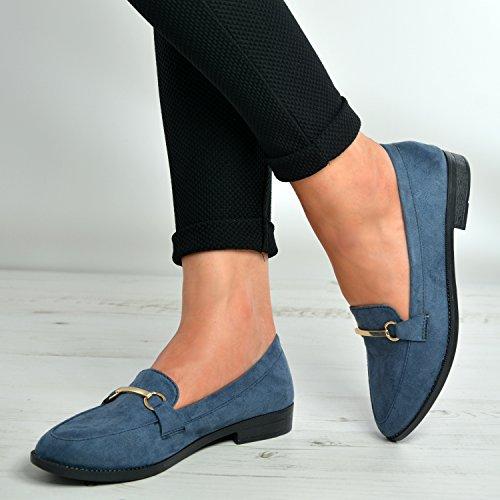 Cucu Fashion , Ballerines pour femme Bleu