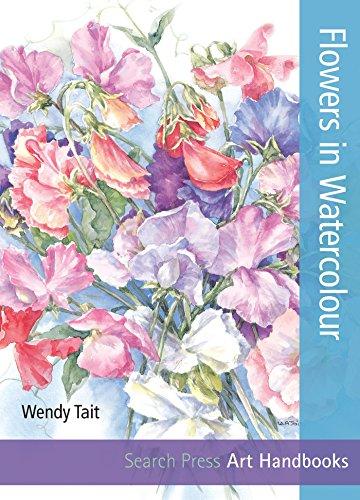 Flowers in Watercolour (SBSLA05) (Step-by-Step Leisure Arts)