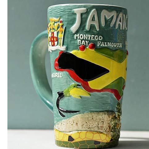 tobbrt Figuren Kreativität Becher Hand Gemälde Exporte Keramik Wälder Großraum Milch Frühstück Haferflocken Kaffee Bier Mark Cup