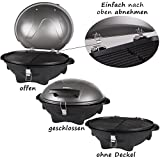 TZS First Austria elektrischer Standgrill variable Nutzung