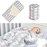 Schlafsack für Kleinkinder 3-6/7 Jahre, 140x70 cm, Modell: Elefanten