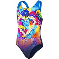 Speedo Hippyhop Placement Digital Splashback Maillot de Bain Fille