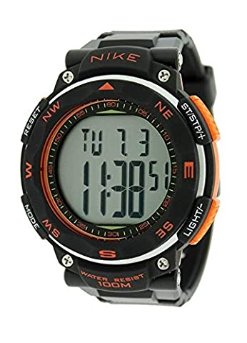 Nike Sport Watches Pedometer quarzwerk Unisex-Armbanduhr OR. 562