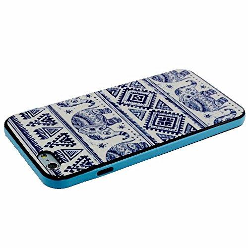 """iPhone 6 Plus / 6S Plus 5.5"""" Coque, MOONCASE Coloré Motif TPU Silicone Gel Étui Housse Protection Shell Cover Case Pour iPhone 6 Plus / 6S Plus 5.5"""" YT17 YT05"""
