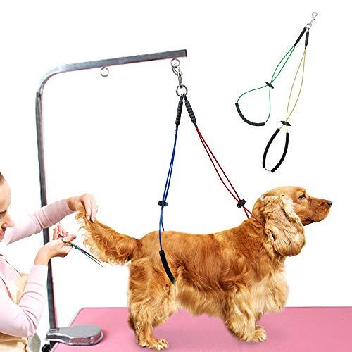 XUHAOHAO Haustier Hundepflege Schleife Tisch Arm Körper Noose Halter Zurückhaltung Seil Harness Für Hunde Pflege Stehendes Training - Armee Körper
