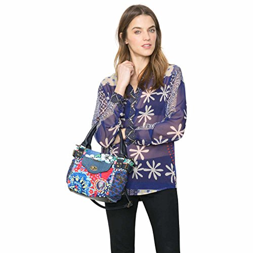 Desigual BOLS Mini MCBEE Culture Club Across Body Bag Borsa a tracolla Marino (Blue)