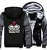 ValuePack Rick Hoodie Kapuzenpullover Winter Plus Dick Mantel Herren Hooded Sweatshirt TV Show Cosplay Kostüm Zip Hoody Erwachsene