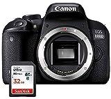 Canon EOS 800D - spiegelreflexkamera Gehäuse - Schwarz