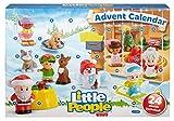 Fisher-Price - Little People Calendario de Adviento, juguetes bebé +1 año (Mattel DGF96)