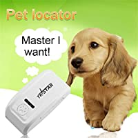 LUCKYKS TKStar waterproof Pet Dog GPS Tracking Collar, GPS Tracker Long Standby Time Tracking Tool For Pets Dog Cat