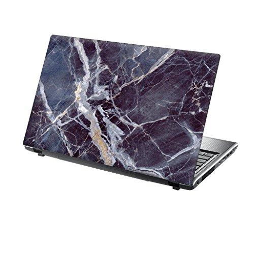 er Skin Vinyl Aufkleber mit bunten Mustern für 15 Zoll 15,6 Zoll (38cm x 25,5cm) Laptop Skin blauem Marmor ()
