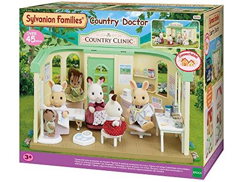 SYLVANIAN FAMILIES-Le Cabinet médical Poupées et Accessoires, 5096, Multicolore, Norme
