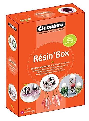 Bijoux En Resine - Résin'box : 30 idées créatives à réaliser