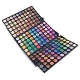 JasCherry 180 Farben Matt Lidschatten Makeup Paletten - Sleek Puder Augenschatten Make Up Etui Box - Satte Farben Kosmetik Eyeshadow Palette
