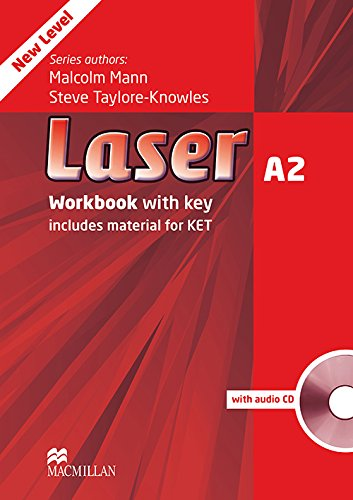 Laser A2. Workbook. With key. Per le Scuole superiori. Con CD-ROM. Con e-book. Con espansione online