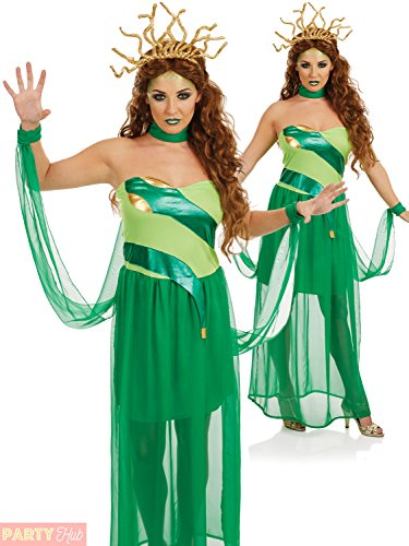 me Fantasy Greek Roman Fancy Dress (Medusa Kinder Kostüme)