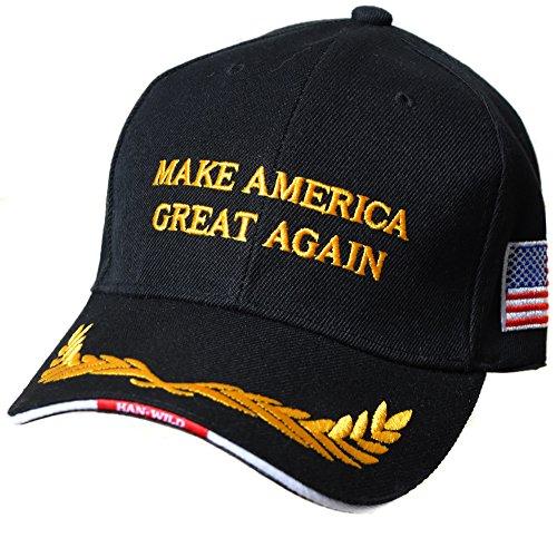 3b879434a05 Casquette Cap 2016 Donald Trump Noir Make America Great Again President