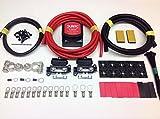 Kit coupleur séparateur de batterie avec relais détecteur de tension SCKD115 12V 140A