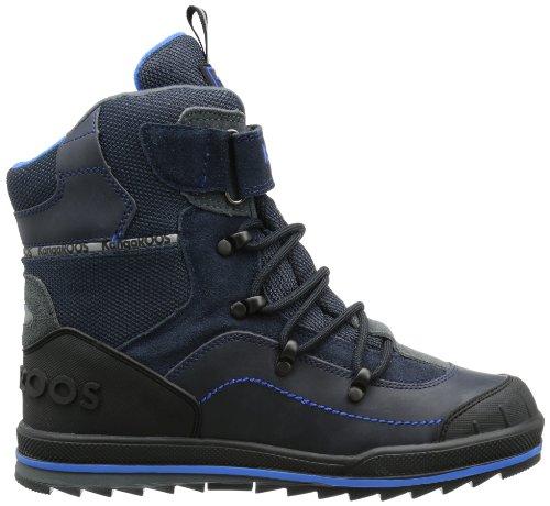Kangaroos Adrian, Bottes de neige mixte bébé Bleu - Blau (dark navy/dark grey/royal blue)