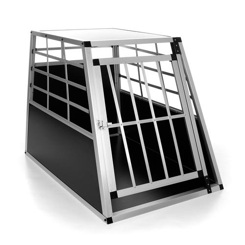 Happypet DGTC04 Hundetransportbox 91 x 65 x 69 cm cm Aluminium