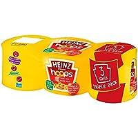 Heinz Triple Pack Spaghetti Hoops 3 x 205g