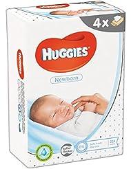 Huggies Newborn Salviette, 4 Pacchi da 56 Pezzi