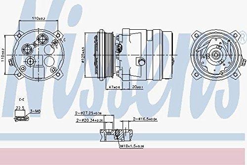 NISSENS 89259 Kompressor, Klimaanlage