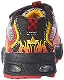 Lico Hot V Blinky, Jungen Sneakers, Mehrfarbig (rot/schwarz/gelb), 28 EU Test