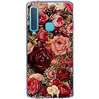Oihxse Case Transparente Suave TPU Compatible con Samsung Galaxy S11 Funda [Lindo Caricatura Flor Serie Dibujos] Cristal Protector Carcasa Anti Rasguños Bumper Cover-Rosa