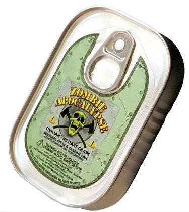 Preisvergleich Produktbild Sardine Tin - Zombie Apocalypse Survival Kit
