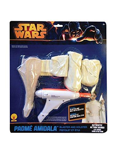Star Wars - Padme Amidalas Blaster und Holster, Kinder Kostüm Zubehör für (Padme Kostüm Kind)