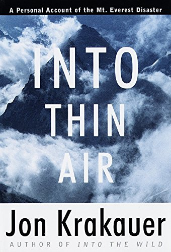 Into Thin Air: A Personal Account of the Mount Everest Disaster (Modern Library Exploration) Orion Mounts