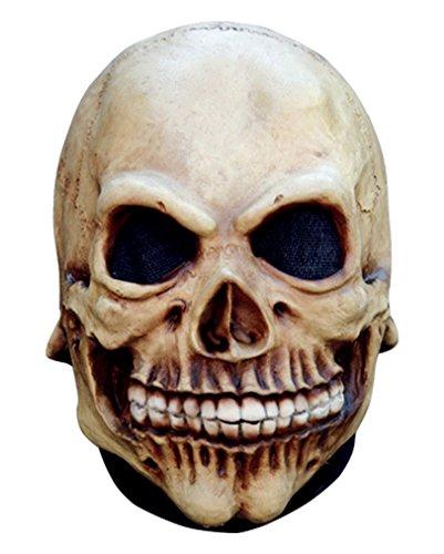 Totenschädel Gevatter Tod (Gevatter Maske Tod Latex)